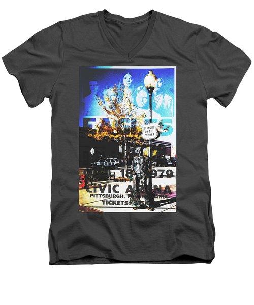 Standin On The Corner Men's V-Neck T-Shirt
