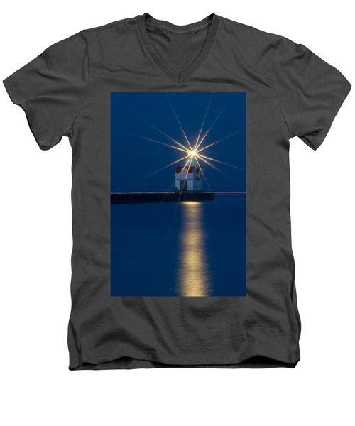 Star Bright Men's V-Neck T-Shirt