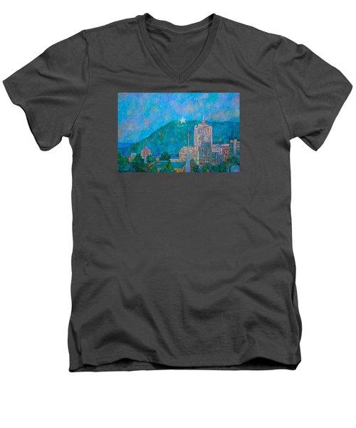 Star City Men's V-Neck T-Shirt