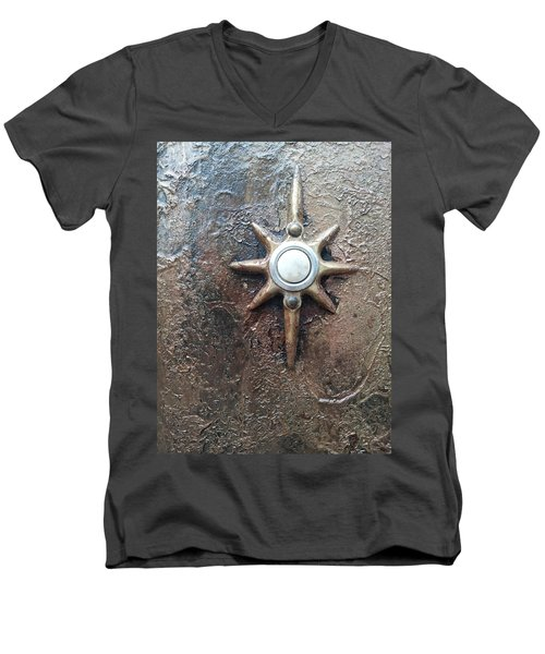 Star Doorbell Men's V-Neck T-Shirt