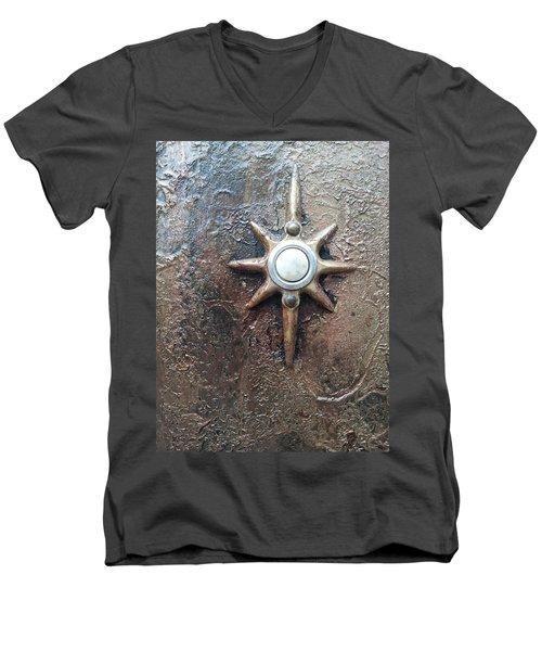 Star Doorbell Men's V-Neck T-Shirt