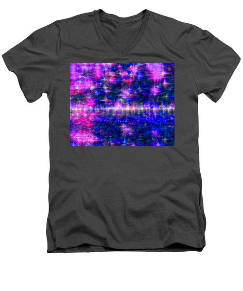 Star Gardens Men's V-Neck T-Shirt