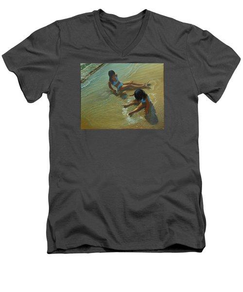 Star Maker Men's V-Neck T-Shirt