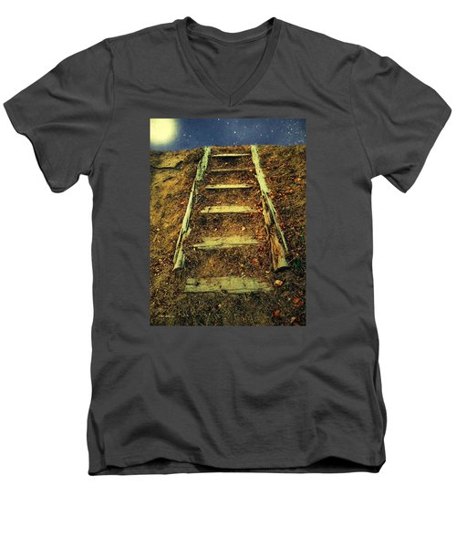 Starclimb Men's V-Neck T-Shirt