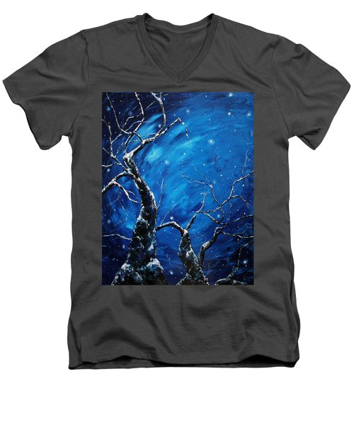Stargazer Men's V-Neck T-Shirt