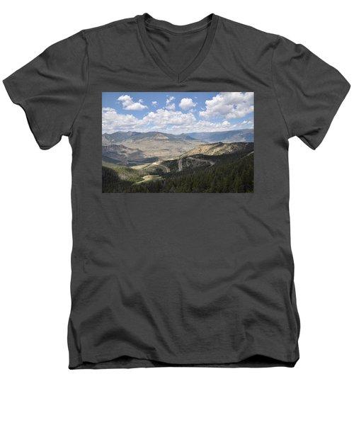 Starlight Basin Men's V-Neck T-Shirt
