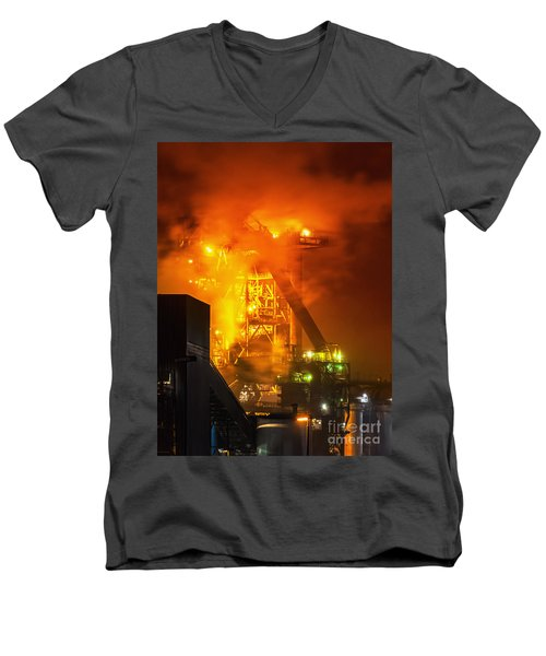 Steam And Light Men's V-Neck T-Shirt