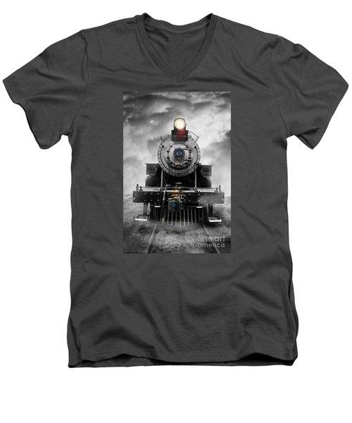 Steam Train Dream Men's V-Neck T-Shirt