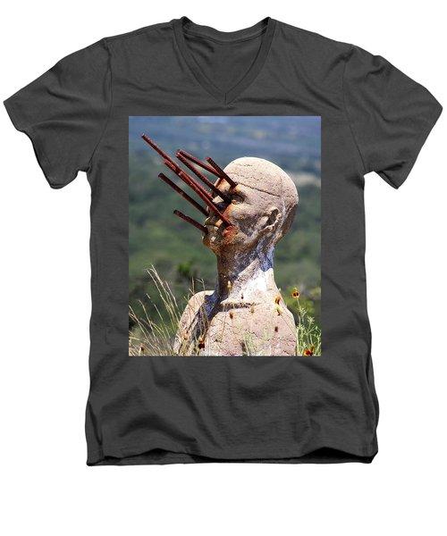 Steel Vision Men's V-Neck T-Shirt