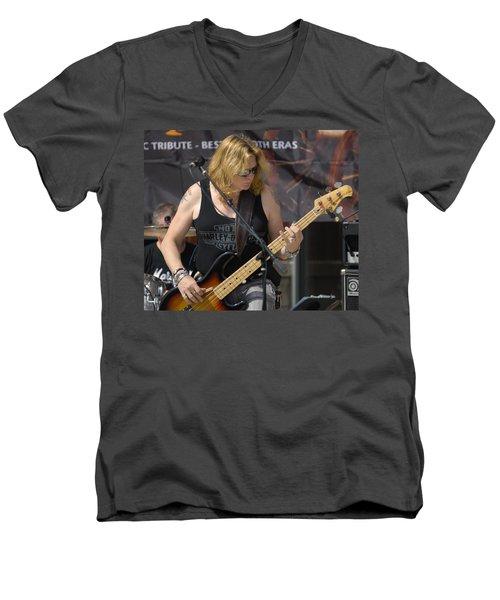 Stevie Conlon Tnt Chicago Band Men's V-Neck T-Shirt