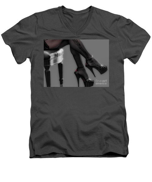 Stilettos Men's V-Neck T-Shirt