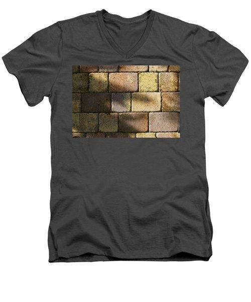 Stone And Light 04 Men's V-Neck T-Shirt
