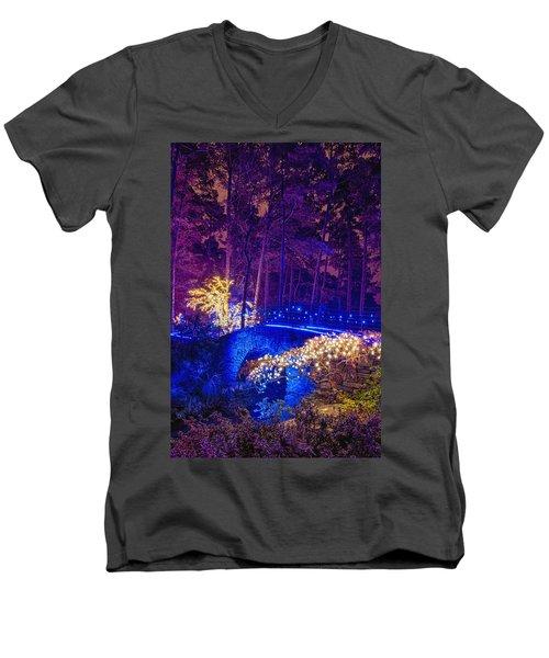 Stone Bridge - Full Height Men's V-Neck T-Shirt