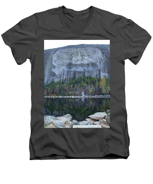 Stone Mountain - 2 Men's V-Neck T-Shirt