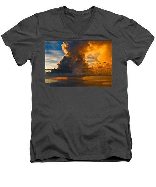 Storm At Sea Men's V-Neck T-Shirt