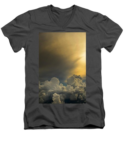Storm Cloud Series No. 2 Men's V-Neck T-Shirt
