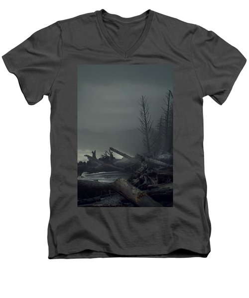 Storm Aftermath Men's V-Neck T-Shirt