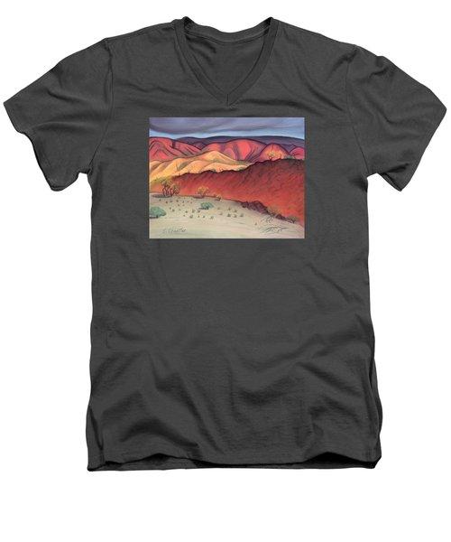Storm Outback Australia Men's V-Neck T-Shirt