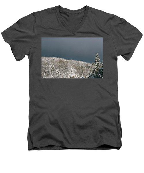 Storm's A'brewin' Men's V-Neck T-Shirt by David Porteus