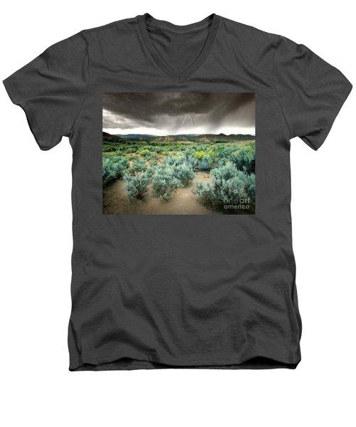 Storms Never Last Men's V-Neck T-Shirt