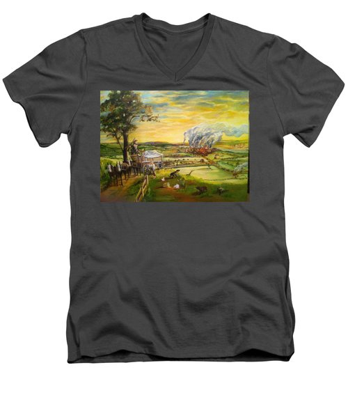 Story2 Men's V-Neck T-Shirt