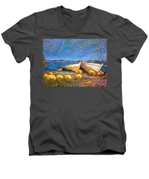 Stranded - Bar Road Men's V-Neck T-Shirt