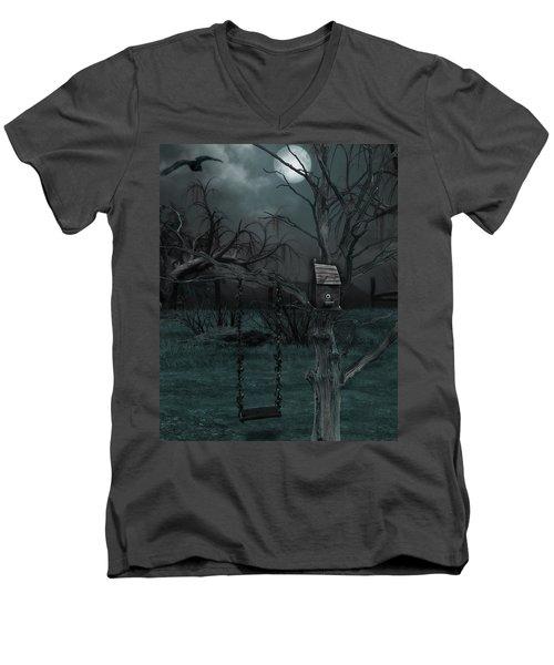 Strange Eyedea Men's V-Neck T-Shirt
