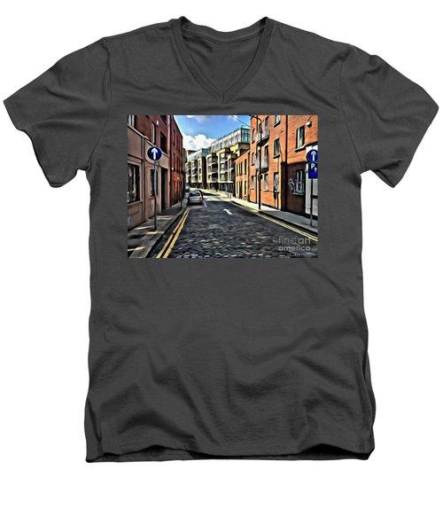 Streets Of Ireland Men's V-Neck T-Shirt