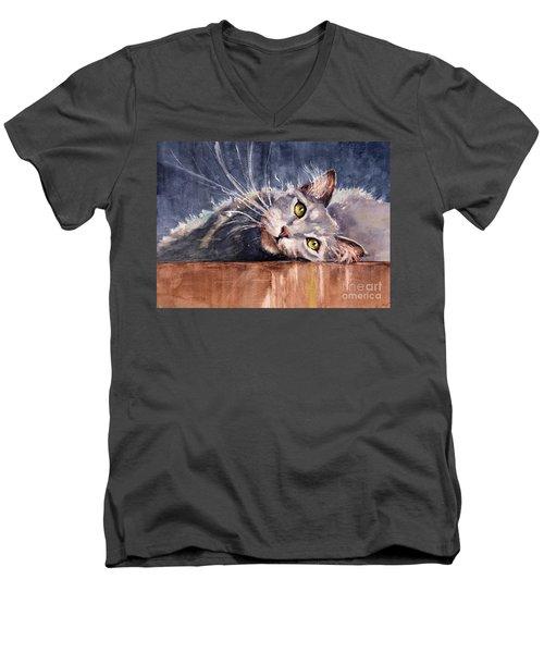 Stretch Men's V-Neck T-Shirt