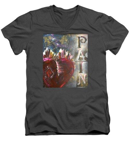 Striking Pain Men's V-Neck T-Shirt