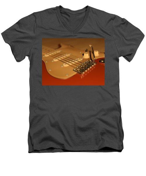 Strummed Men's V-Neck T-Shirt
