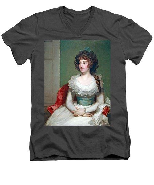 Stuart's Matilda Caroline Cruger Men's V-Neck T-Shirt