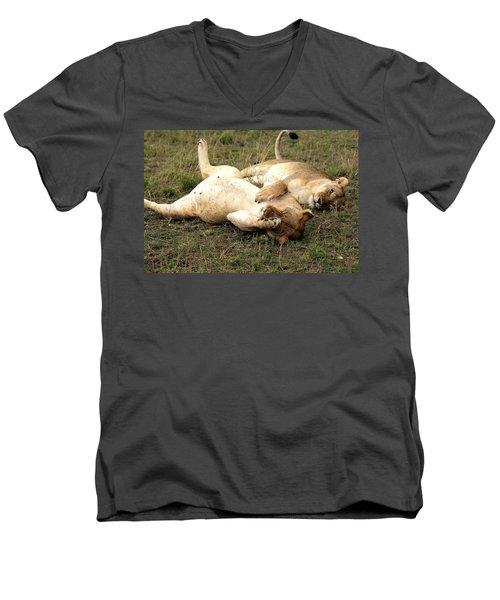 Stuffed Men's V-Neck T-Shirt