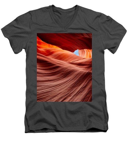Subterranean Waves Men's V-Neck T-Shirt