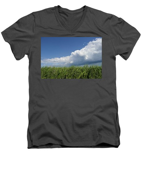 Suffolk Skies Men's V-Neck T-Shirt