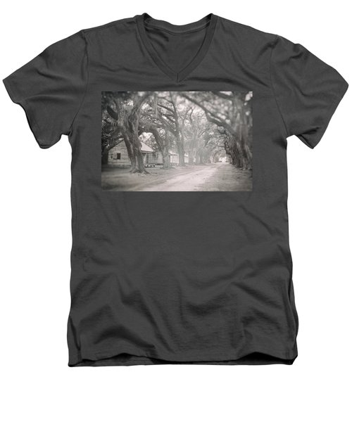 Sugar Cane Plantation Men's V-Neck T-Shirt