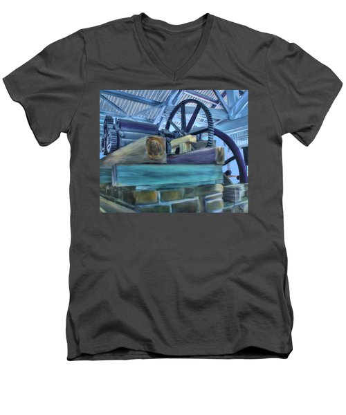 Sugar Mill Gizmo Men's V-Neck T-Shirt