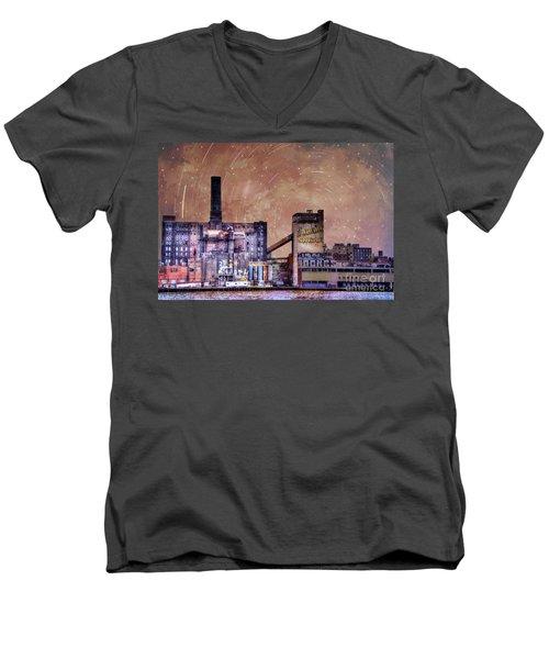 Sugar Shack Men's V-Neck T-Shirt by Juli Scalzi
