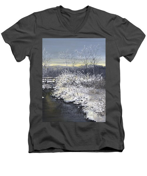 Sugared Sunrise Men's V-Neck T-Shirt