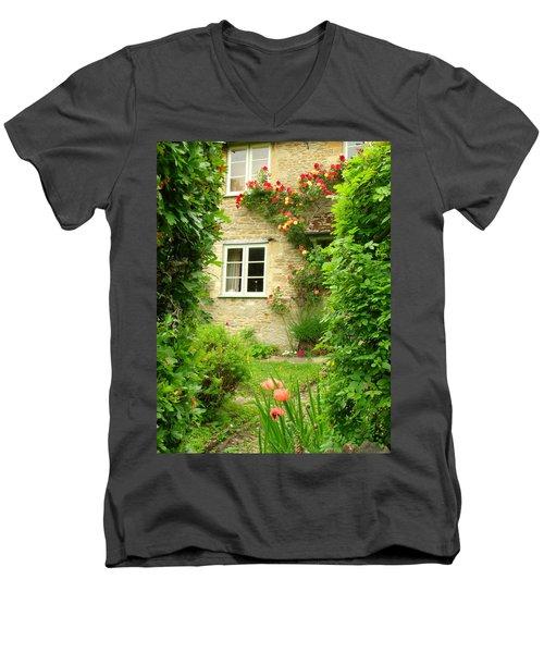 Summer Cottage Men's V-Neck T-Shirt