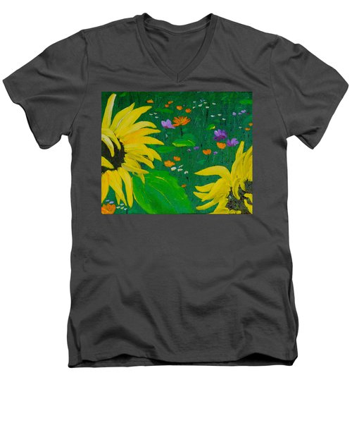 Summer Dance Men's V-Neck T-Shirt
