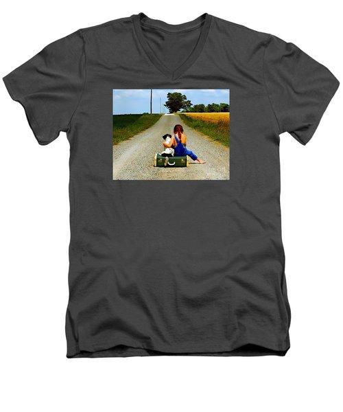 Summer Daze Men's V-Neck T-Shirt