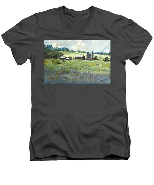Summer Fields Men's V-Neck T-Shirt