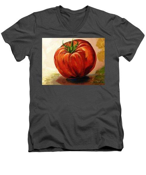 Summer Fruit Men's V-Neck T-Shirt