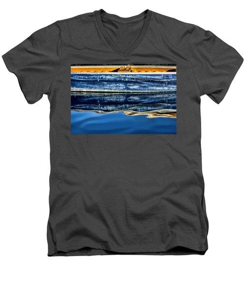 Summer Fun Men's V-Neck T-Shirt by Tammy Espino