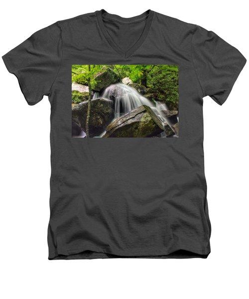 Summer On The Rocks Men's V-Neck T-Shirt