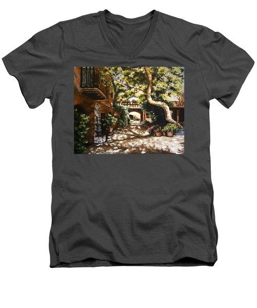 Summer Sun Men's V-Neck T-Shirt