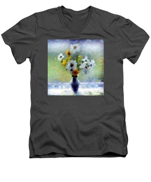 Summerstorm Still Life Men's V-Neck T-Shirt by RC deWinter