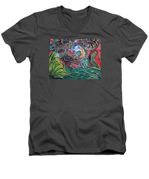 Summertime Bliss.. Men's V-Neck T-Shirt by Jolanta Anna Karolska
