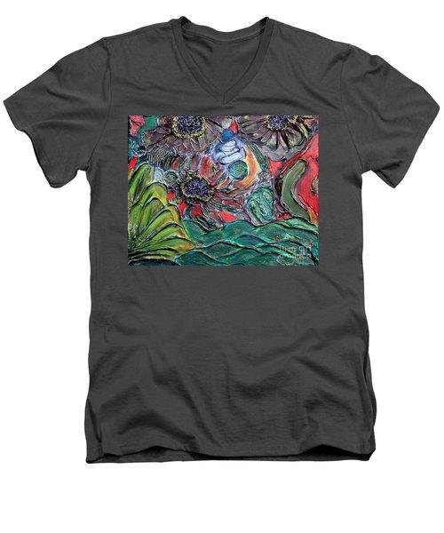 Summertime Bliss.. Men's V-Neck T-Shirt